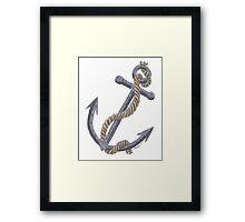 Anchor Framed Print
