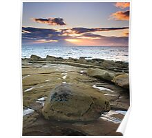 Sunset Rays over the Moray Firth II Poster