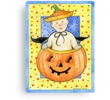 Pumpkin Baby Canvas Print