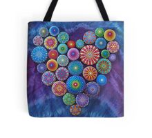 Love Rocks Mandala Stone Collection by Elspeth McLean Tote Bag