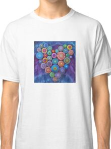Love Rocks Mandala Stone Collection by Elspeth McLean Classic T-Shirt