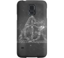 You're a wizard, Harry - Deathly Hallows Version Samsung Galaxy Case/Skin
