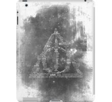 You're a wizard, Harry - Deathly Hallows Version iPad Case/Skin