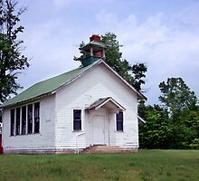 One Room Schoolhouse, circa 1900 by robrich