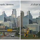 A Cloudy Minneapolis Skyline by Nanagahma