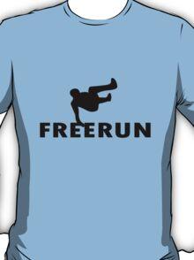 Freerun vault geek funny nerd T-Shirt
