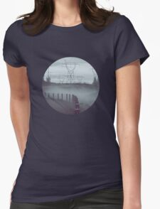 Road Womens Fitted T-Shirt