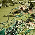 Fishing Paraphernalia at Scarborough Harbour by Rob Hawkins
