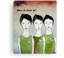 Heartless ones Canvas Print