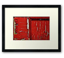 A-PEEL-ING  Door Framed Print