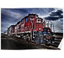 CP Rail Train Poster
