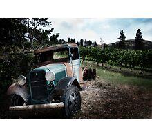 Broken Down Truck Photographic Print