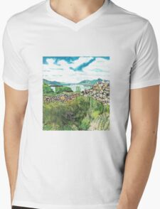 The lakes Mens V-Neck T-Shirt