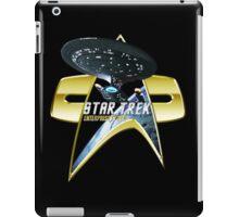 StarTrek Enterprise 1701 D Com badge 2 iPad Case/Skin