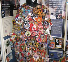 Firefighter and Police Badges -9/11/2001 by Patricia127