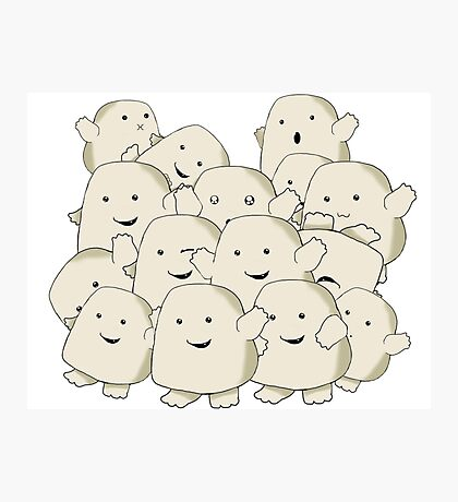 not fat...collecting Adipose Photographic Print