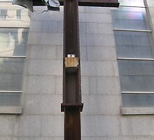Cross of Steel from the World Trade Center by Patricia127