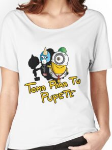 Minion - toma para tu pupete Women's Relaxed Fit T-Shirt