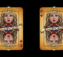 Queen Of Hearts  by dollyxdaydreamx