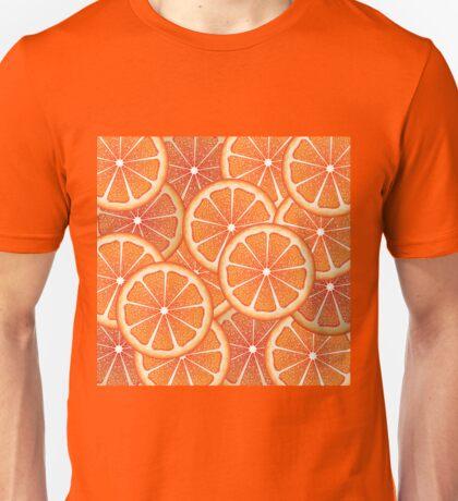Grapefruit Slices Background 2 Unisex T-Shirt