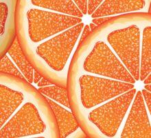 Grapefruit Slices Background 2 Sticker