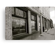 The Commercial Hotel  Canvas Print