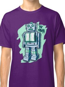Retro Toy Robot Classic T-Shirt