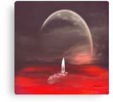 Light a candle- 9/11 Canvas Print