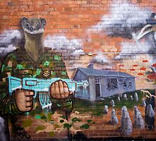 Graffiti - Bakery Lane Brisbane by Jordan Miscamble