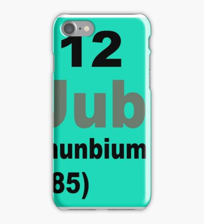 Copernicium Periodic Table of Elements iPhone Case/Skin