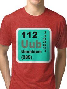 Copernicium Periodic Table of Elements Tri-blend T-Shirt