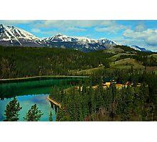 Emerald Lake (Yukon) Photographic Print