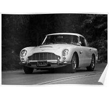 Aston Martin DB5 Poster