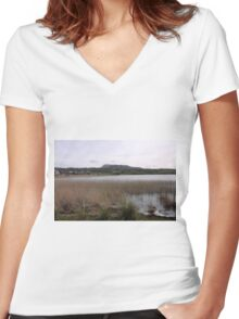 Dunfanaghy Donegal - Ireland Women's Fitted V-Neck T-Shirt