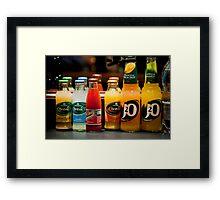 Drinks For The Break Framed Print