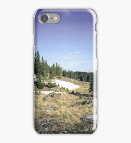 Hello spring, bye snow iPhone Case/Skin