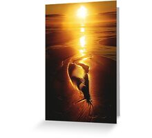 VISUALIZE  RADIANT Greeting Card