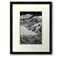 All Folded Up In Your Arms Framed Print