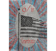 9/11 Remembrance Photographic Print
