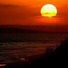 Sunset,13th Beach by Joe Mortelliti