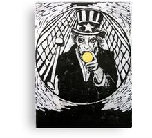 The Gold Doubloon (from Meditations on Moby Dick) Canvas Print