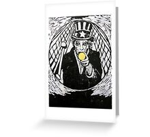 The Gold Doubloon (from Meditations on Moby Dick) Greeting Card