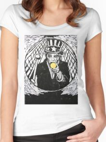 The Gold Doubloon (from Meditations on Moby Dick) Women's Fitted Scoop T-Shirt