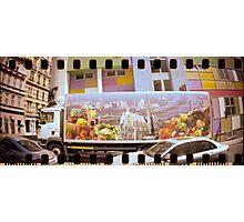 Vienna Truck sprocket holes Photographic Print