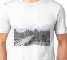 Princess street & Weaverly station Edinburgh   - Scotland Unisex T-Shirt