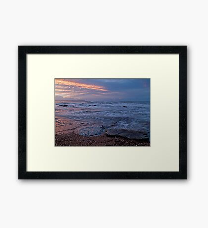 Earth, Air, Fire, Water Framed Print