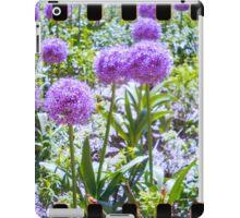 lovely purple sprocket flower iPad Case/Skin