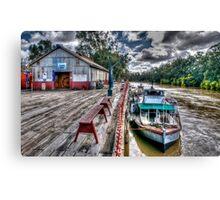 Port of Echuca Canvas Print