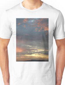 Coloured sky - Derry Ireland  Unisex T-Shirt