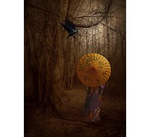 Lady Autumn... Photographic Print